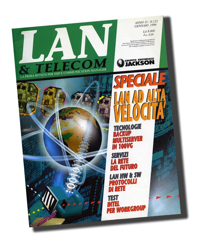 copertina cover Lan&Telecom Jackson