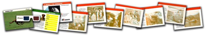 diario scolastico 3D esercito italiano 1987