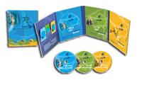 cofanetto dvd israele 3d
